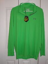 Under Armour Mens UA Golf ColdGear 1/4 Zip Long Sleeve Pullover Shirt Size Small