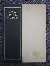 TWO BOB'S WORTH Robert Pope & Robert Todonai 1988 1st Edition Hardcover