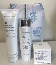 NUTRIMETICS WHITE AGE SKINCARE SET New with FREE BAG