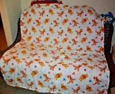 Vintage WINNIE the POOH & TIGGER Comforter bedding baby blanket throw quilt