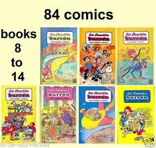FAMILIA BURRON MEXICAN 7 BOOKS *84 COMICS COLLECTION* - (books 8 to 14)
