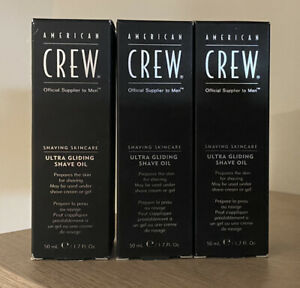 American Crew Ultra Gliding Shave Oil (Pack of 3)
