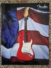 1998 Fender Guitars & Basses American Series Catalog Mint Cond. Case Candy