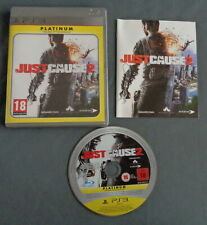 PLAYSTATION 3 PS3 Just cause 2 COMPLEET PLATINUM spel English video game PAL Jeu