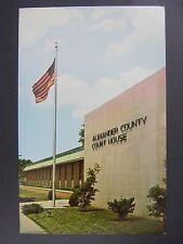 Cairo Illinois Alexander County Courthouse Vintage Color Chrome Postcard 1960s