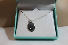 """""""MOM"""" AND HEART GRAPHIC 18"""" NECKLACE & MWS 925 STERLING SILVER PENDANT NIB!"""
