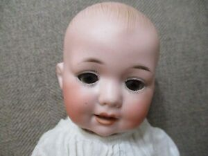 """10"""" Bisque Head Character Baby with Original Outfit"""