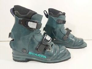 Scarpa Nordic Norm 3-Pin 75mm Ski Boots size 4.5