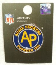 GREEN BAY PACKERS ACME PACKER CIRCLE PIN NEW IN PACKAGE RARE HARD TO FIND