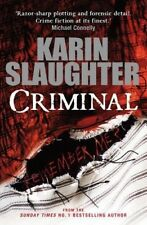 Very Good, Criminal (The Will Trent Series), Slaughter, Karin, Book