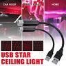 2x Auto E Casa Soffitto Proiettore Stella USB Notte Romantico Atmosphere J F