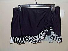 Croft & Barrow Lycra Tummy Slimming Bathing Suit Bottom 8 NWT- CUTE! B6-27