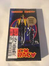 Dick Tracy (VHS, 1990) Warren Beatty & Madonna Touchstone Home Video Comic book