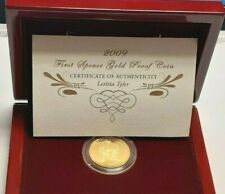 2009-W  SARAH POLK FIRST SPOUSE 1/2 OZ, GOLD PROOF COIN X36
