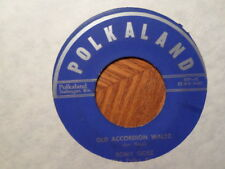 Polkaland 45 Record / Romy Gosz / Alt Akkordeon Waltz / Unknown Girl Punkta /VG+