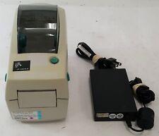 Zebra Lp 2824 Z Thermal Label Printer Ethernet 282z 21400 0001 Yellowing Withac