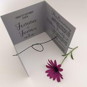 Wedding invitation handmade personalised silver DIY lace rustic shabby elegant