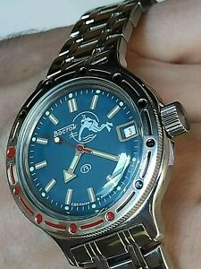 VOSTOK AMPHIBIA RUSSIAN WATCH 420059