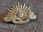 Australia Military Rising Sun Badge 3rd Version 1904 - 1948 Copper