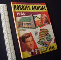 Vintage Hobbies Annual-Handbook-Catalogue 1964. Fretworking, Retro-Modelling etc