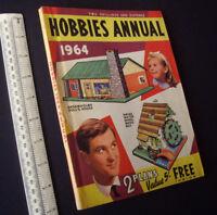 Vintage Hobbies Annual-Handbook-Catalogue 1964. Fretworking, Retro-Modelling etc