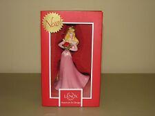 "NEW Lenox DISNEY A Bouquet For Beauty Ornament Sleeping Aurora porcelain 4.75"""