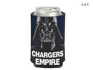 Los Angeles Chargers NFL Can Holder Cooler Bottle Sleeve Star Wars Darth Vader