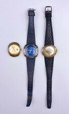 3 VTG Lady OMEGA Seamaster Cosmic DeVille Geneve Dynamic Wristwatchs For Repair