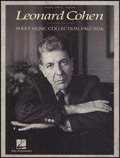 Leonard Cohen Sheet Music Collection 1967-2016 Piano Book Hallelujah Suzanne
