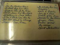 Lot of  7 Vtg Cassette Tapes ESTATE Country Whitney Houston Bonnie Raitt