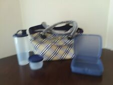Tupperware Great Lunch Set with Carry Bag cl