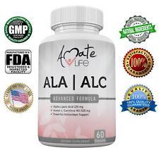 ALA/ALC High Potency Formula - Alpha Lipoic Acid & Acetyl-L-Carnitine - 60 Count