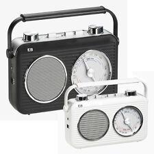 Electro Brand classic design AM/FM portable radios  Item # 975