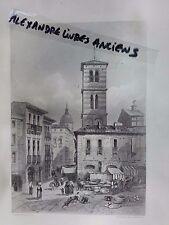 GRAVURE 1860 ITALIE CAPOUE CAPUA