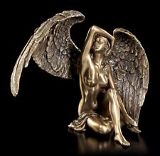 Engel Figur - Weiblicher Akt mit gestreckten Flügeln - Veronese Fantasy Statue
