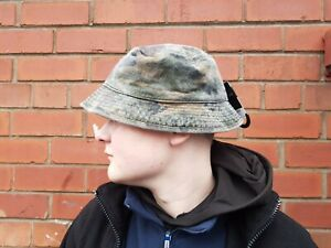 Army Bucket Cap Hat Stone Washed