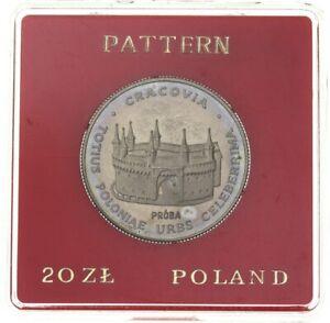 Poland, 20 Złotych 1981, Restoration of Krakow - Proba in copper-nickel (*E90*)