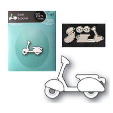 Swift Scooter metal die cut set Memory Box cutting dies 99977 moped bike