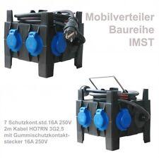 PCE IMST Kleinverteiler tragbar 7xSSD, 2m 3G2,5 m.Vollg. Schukostecker - 9030030
