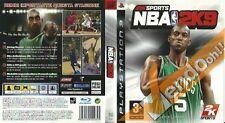 NBA 2K9 VIDEO GIOCO GAME CONSOLE PS3 SONY PLAYSTATION BASKET SPORT PALLACANESTRO