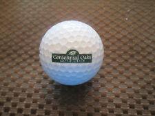 Logo Golf Ball-Centennial Oaks Golf Club.Iowa