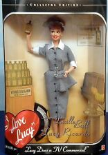 1997 Mattel I Love Lucy Doll (Lucille Ball) Does Tv Commercial Vitameatavegamin