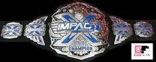 TNA IMPACT X DIVISION WRESTLING CHAMPIONSHIP BELT ADULT SIZE