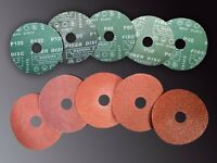 Discos de fibra 115x22 P120 (Pack de 100 unidades)