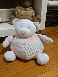 Bear Pink/White Teddy And Friends Sydney Australia 20cm Beanbag Bottom