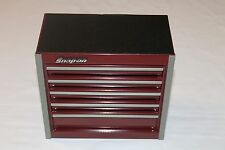 Snap On Cranberry Mini Bottom Roll Cab Tool Box Rare Brand New
