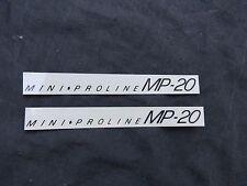 REDLINE DECALS MINI PROLINE MP20 BMX STICKERS VINTAGE NOS