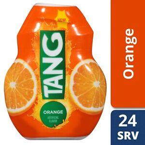 TANG ORANGE Liquid Drink Water Enhancer (24 servings x 2 bottles) FAST FREE Ship