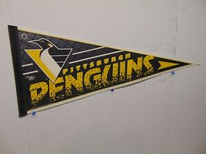 Wincraft Pittsburgh Penguins full size Pennant #1 black yellow white colors