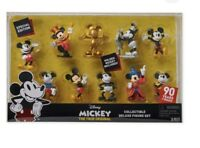 Disney Mickey Mouse Memories Collectible Deluxe Figure Set 90 YEARS of MAGIC mic